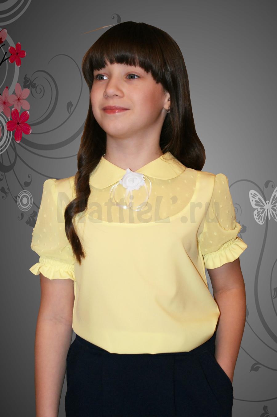 Блузки для девочек Москва